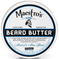 Maestro's Classic Mark of a Man Blend Beard Butter 8oz