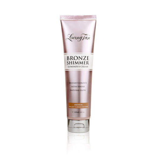 Loving Tan Bronze Shimmer Luminous Cream Medium 120ml