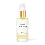 MULLEIN & SPARROW Lemon Rose Face Wash 2 fl oz/60 ml