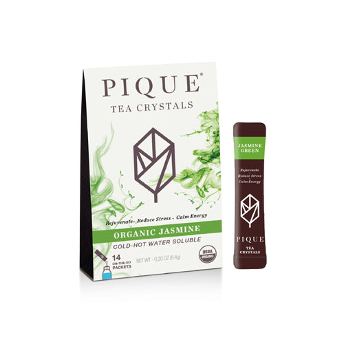 PIQUE Tea Crystals Organic Jasmine Green Tea