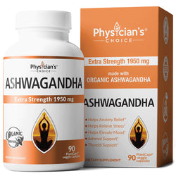 Physician's Choice Organic Ashwagandha 90caps