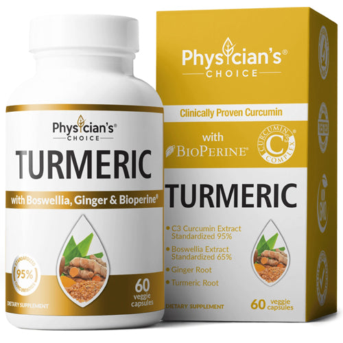 Physician's Choice Turmeric Curcumin 60caps