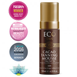 ECO TAN Cacao Tanning Mousse 4.23oz