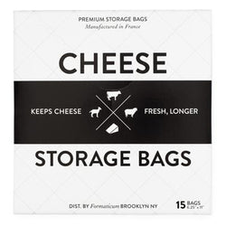 Formaticum Cheese Storage Bags - 15 Bags