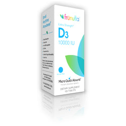 frunutta Vitamin D3 10,000 IU sublingual - 100 Tablets