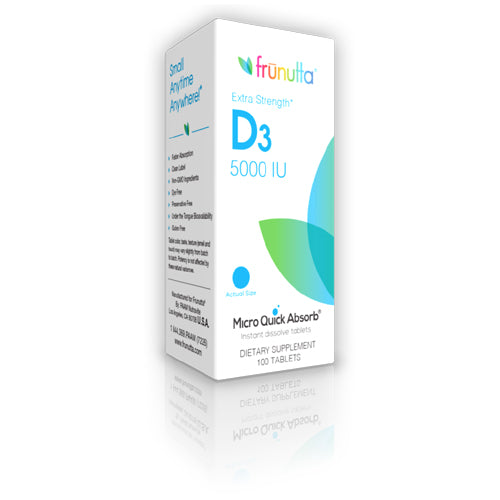 frunutta D3 5000 IU sublingual - 100 Tablets