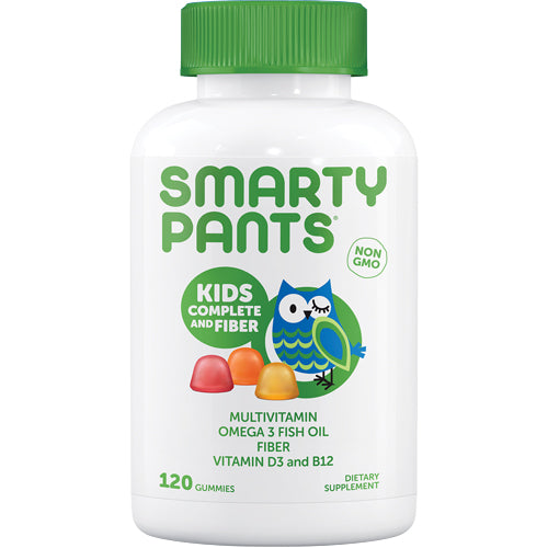 SMARTYPANYS Kids Complete and Fiber 120 Gummies