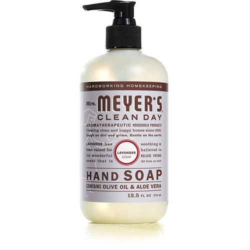 Mrs Meyer's Liquid Hand Soap Lavender 12.5oz