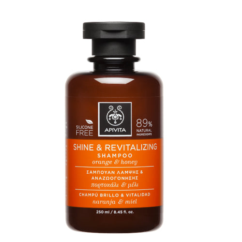 APIVITA Shine & Revitalizing Shampoo 8.45oz