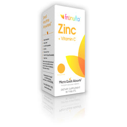 frunutta Zinc + Vitamin C sublingual - 90 Tablets