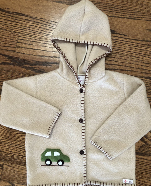 Green Car Jacket