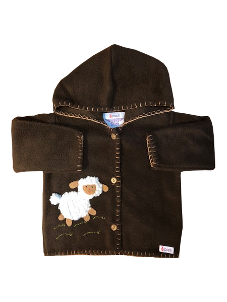 Lamb Jacket (Dark Brown)