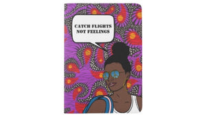 African American Girl Passport Sleeve