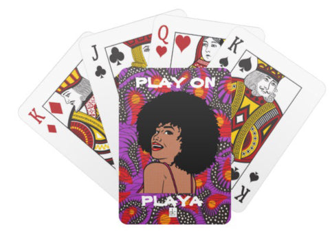 """Play on Playa"" Playing Cards"