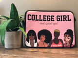 """College Girl"" Laptop Sleeve"