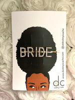 BRIDE hair clips