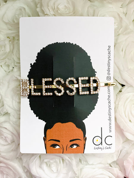 BLESSED Hair Pin