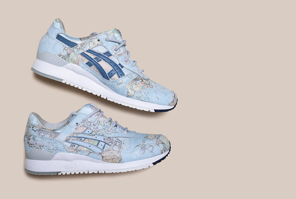 ASICS TIGER x ATMOS Gel Lyte III 'Global' Release Information
