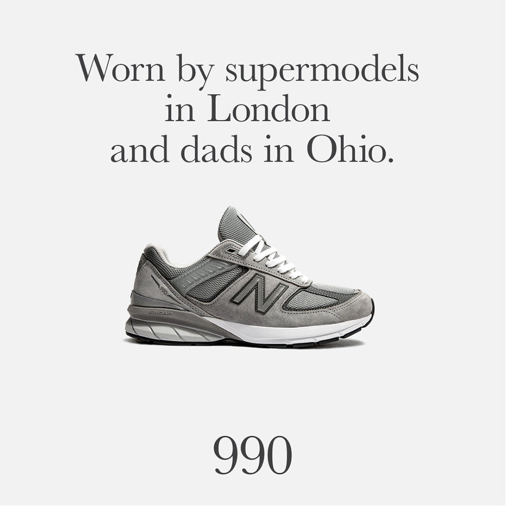 9adaee4d One-up your dad with New Balance's re-designed 990 V5 – Above The Clouds