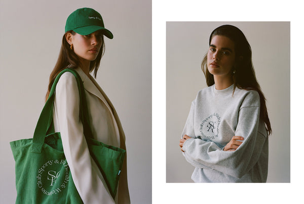 A mood board for life: Sporty and Rich apparel debut