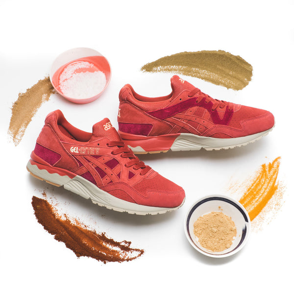 RELEASE INFORMATION: ASICS GEL LYTE V FRIENDS AND FAMILY 'TANDOORI', HORWEEN VANS