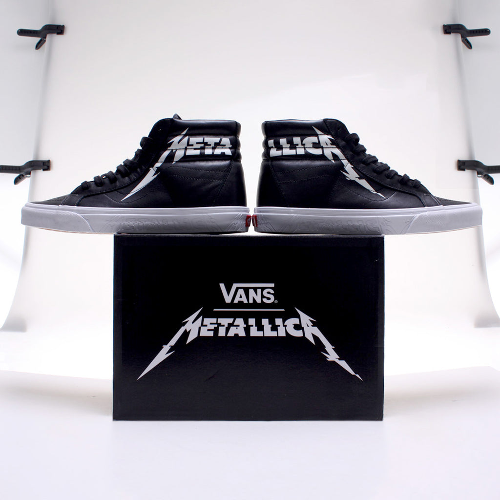 Vans Vault x METALLICA Collection Release Information