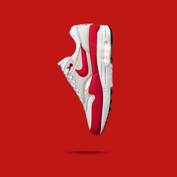 Nike Air Max One Anniversary University Red Release Information