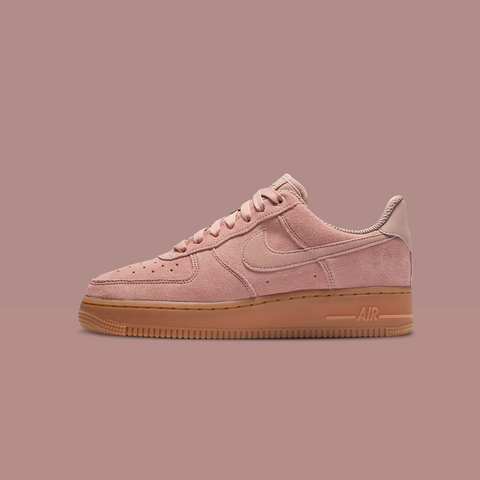 watch 076a9 836af Releasing for women in a Particle Pink and for men in a Mushroom, both with  rich gum soles. Shop the Nike Air Force 1  07 SE for  170 in-store and  online ...