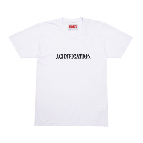 Acidification Recycled T-Shirt White