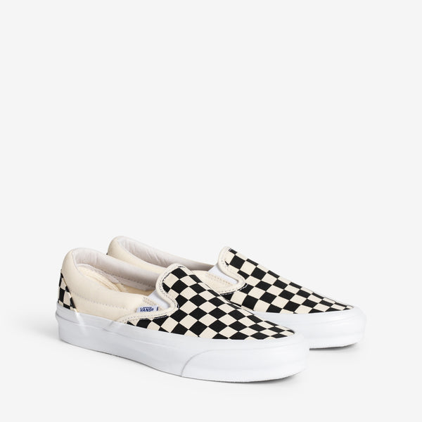 OG Classic Slip-On LX Black Checkerboard