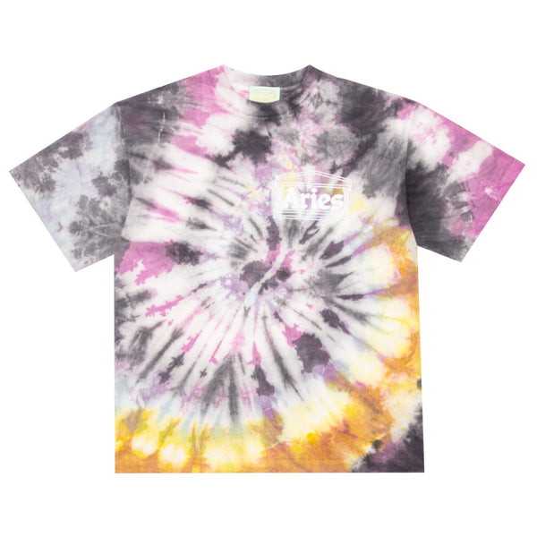 Temple Tie-Dye Short Sleeve Tee