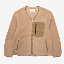 Mikah Fleece Pebble Beige