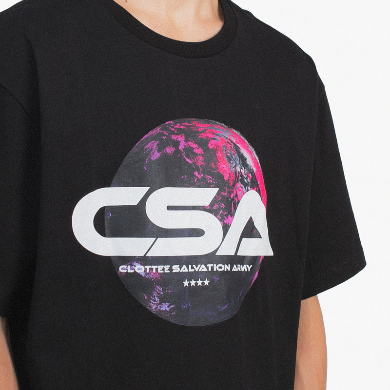 CSA Shirt Sleeve Tee Black