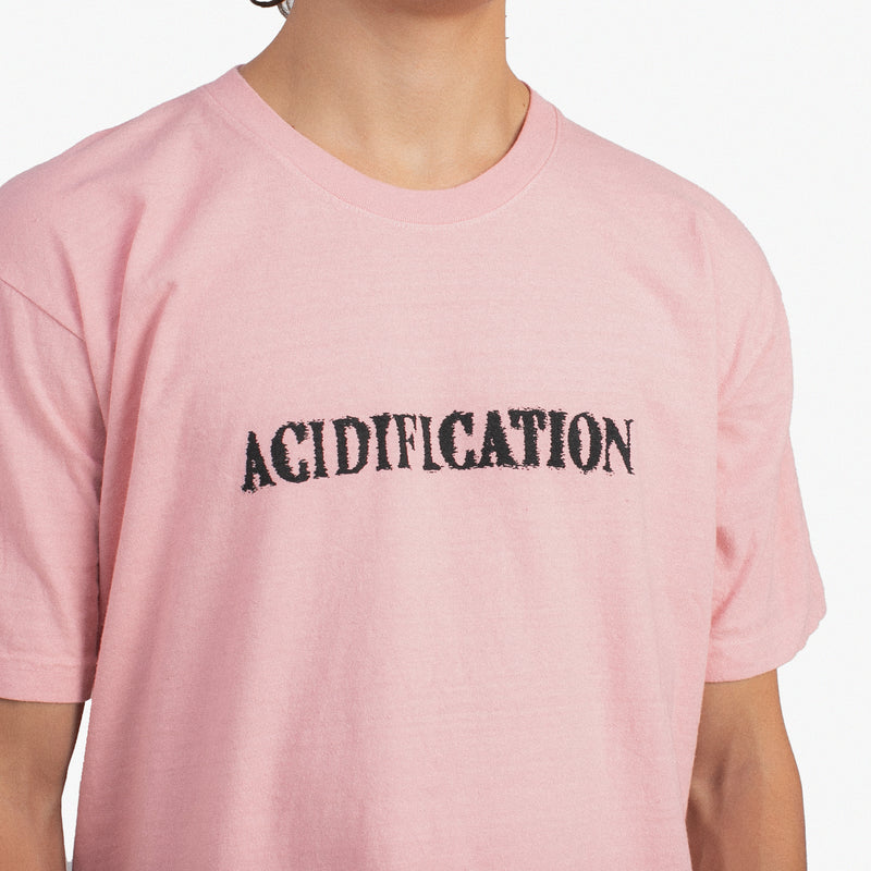 Acidification Recycled T-Shirt Coral