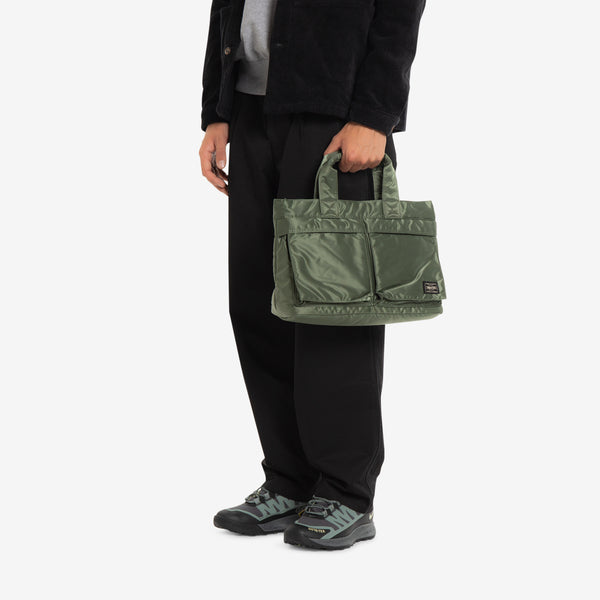 Tanker Carry Tote Bag Sage Green
