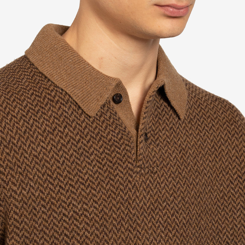 Green Machine Logo Long Sleeve White