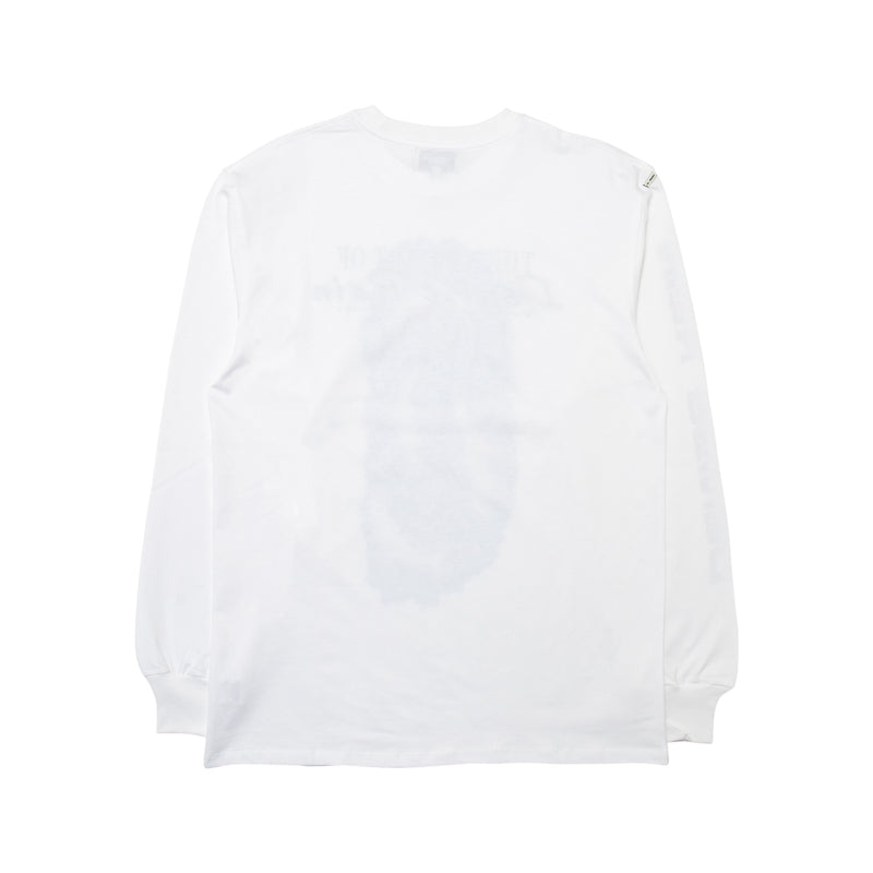 Dolphin Love Long Sleeve White