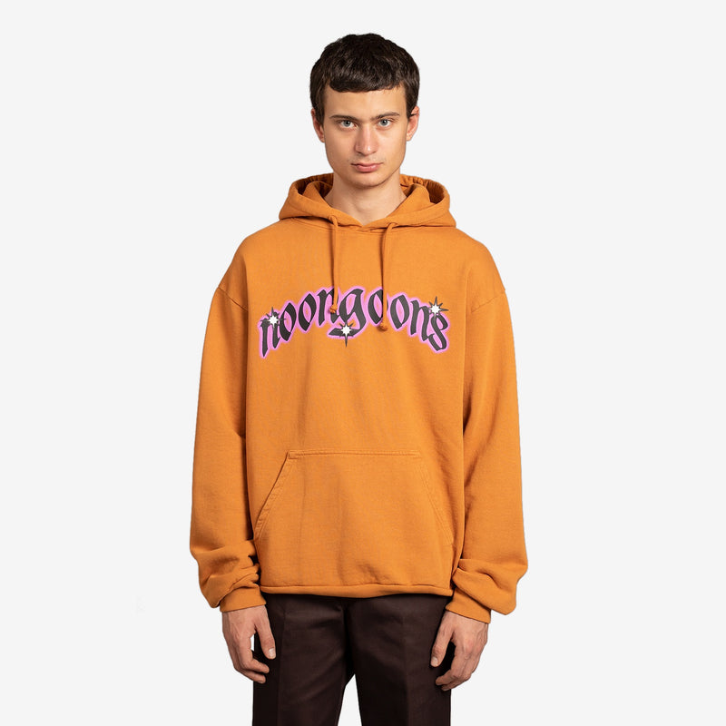 Shining Star Recycled Hooded Sweatshirt Brown | Black