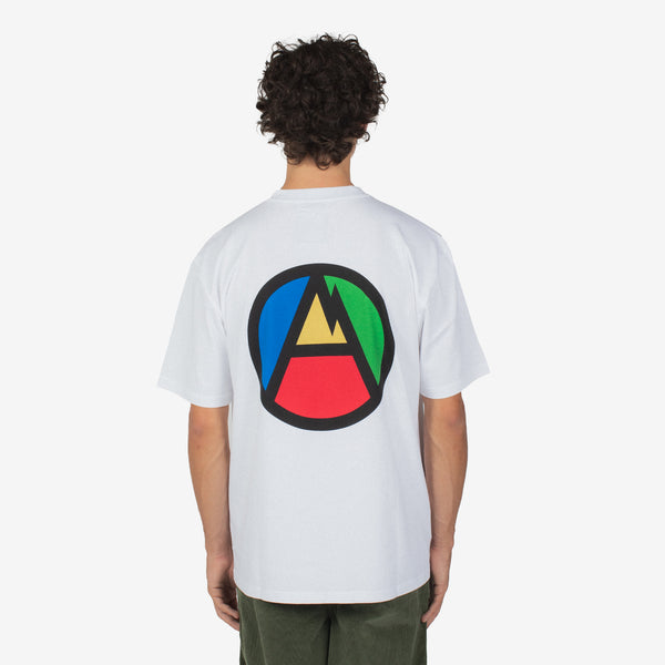 MW A Mountain G Fit Tee White