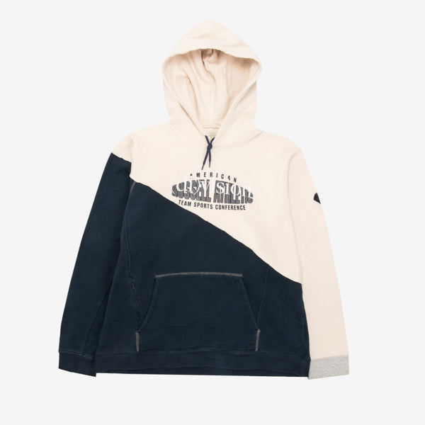 Reconstructed Split Hoodie Medium