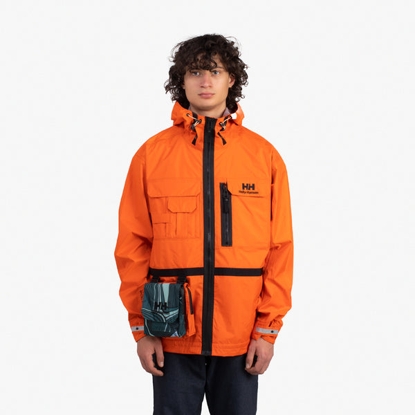 Heritage Rain Jacket Orange