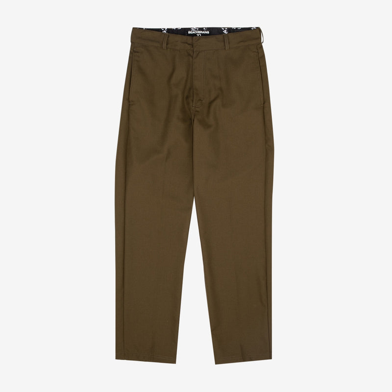 Suit Pants Deep Green