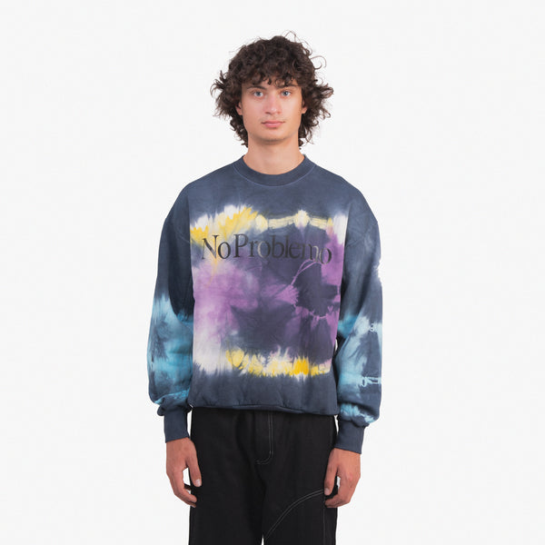 No Problemo Tie Dye Headlights Sweatshirt