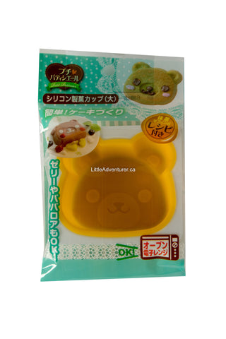 Bear-Shaped Silicone Cup