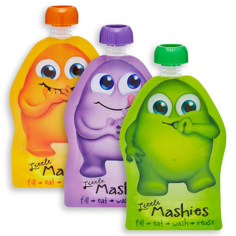 Little Mashies Reusable Drink Pouches (2-pack)