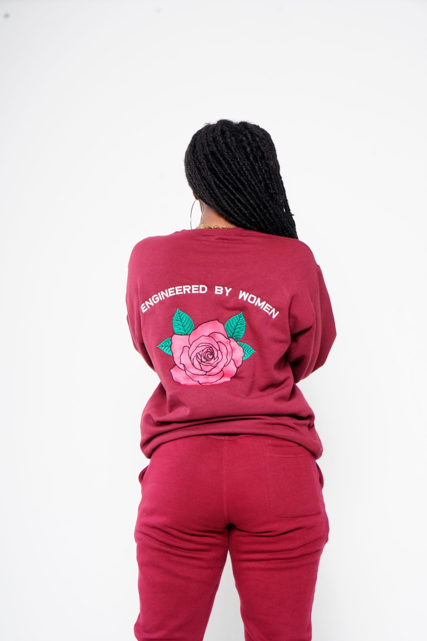 Embroidered Engineered Sweat Suit