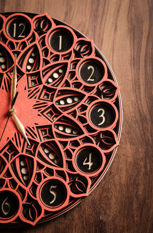 Targaryen - Qreative Qick clock | Wooden Wall Art