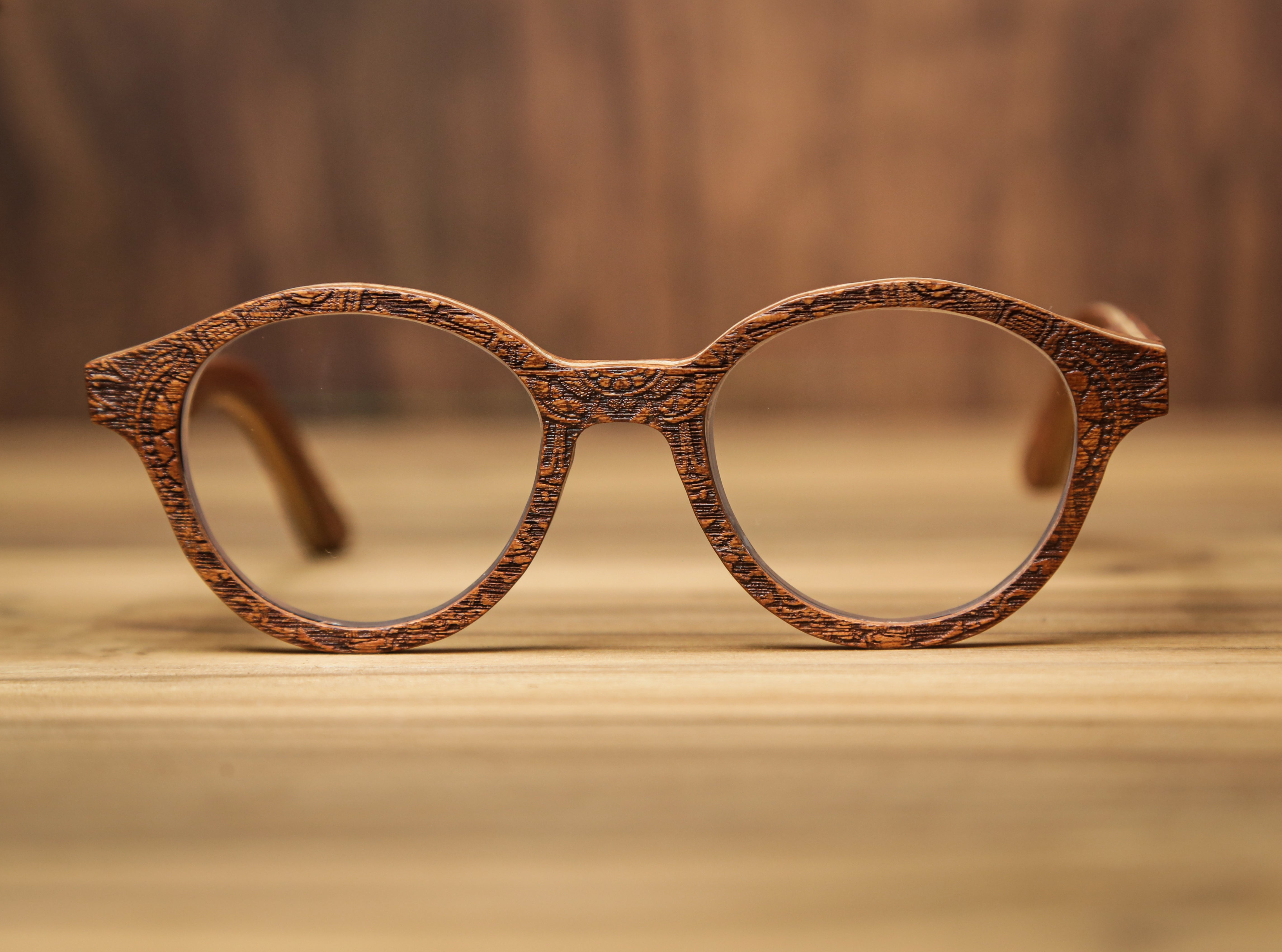 Cigar War | Wooden Sunglasses | Wood Prescription Frame | QQ frames