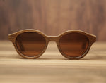 Cigar Smoked Oak | Wooden Sunglasses | Wood Prescription Frame | QQ frames