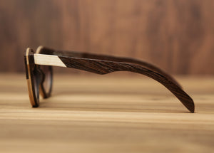 Sonnet Dual-tone | Wooden Sunglasses | Wood Prescription Frame | QQ frames